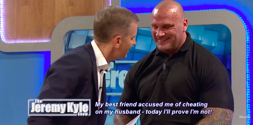 Jeremy Kyle Repeatedly Asks Bouncer Steve Awkward Sex Questions In Cringe Video Screen Shot 2016 07 12 at 14.57.16 1