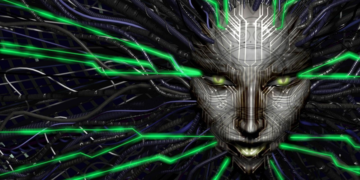 Classic Horror Game Remake Headed To PlayStation 4 System Shock Shodan artwork