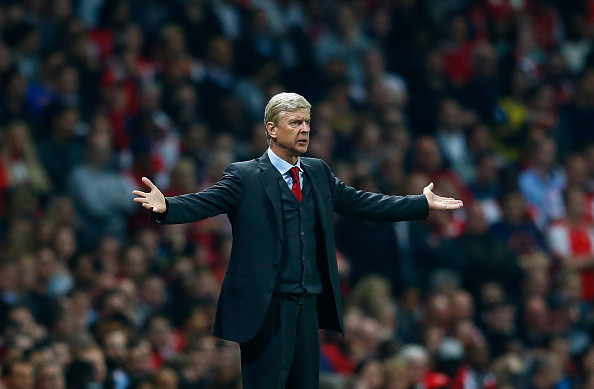 Wenger May Have To Play Worst Ever XI Against Liverpool Wenger Getty 1
