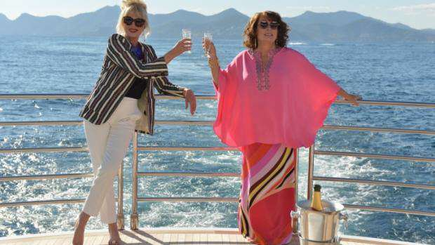 Absolutely Fabulous: The Movie, Flamboyant Fun But Not Fabulous absolutely fabulous 0