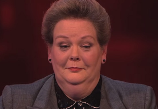 Anne Hegerty Got D*ck On Last Nights Episode Of The Chase asmflaskfaksfasfaknsflaknfakinf