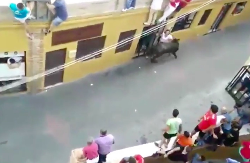 Mother Of Two Gored To Death During Bull Run bull22