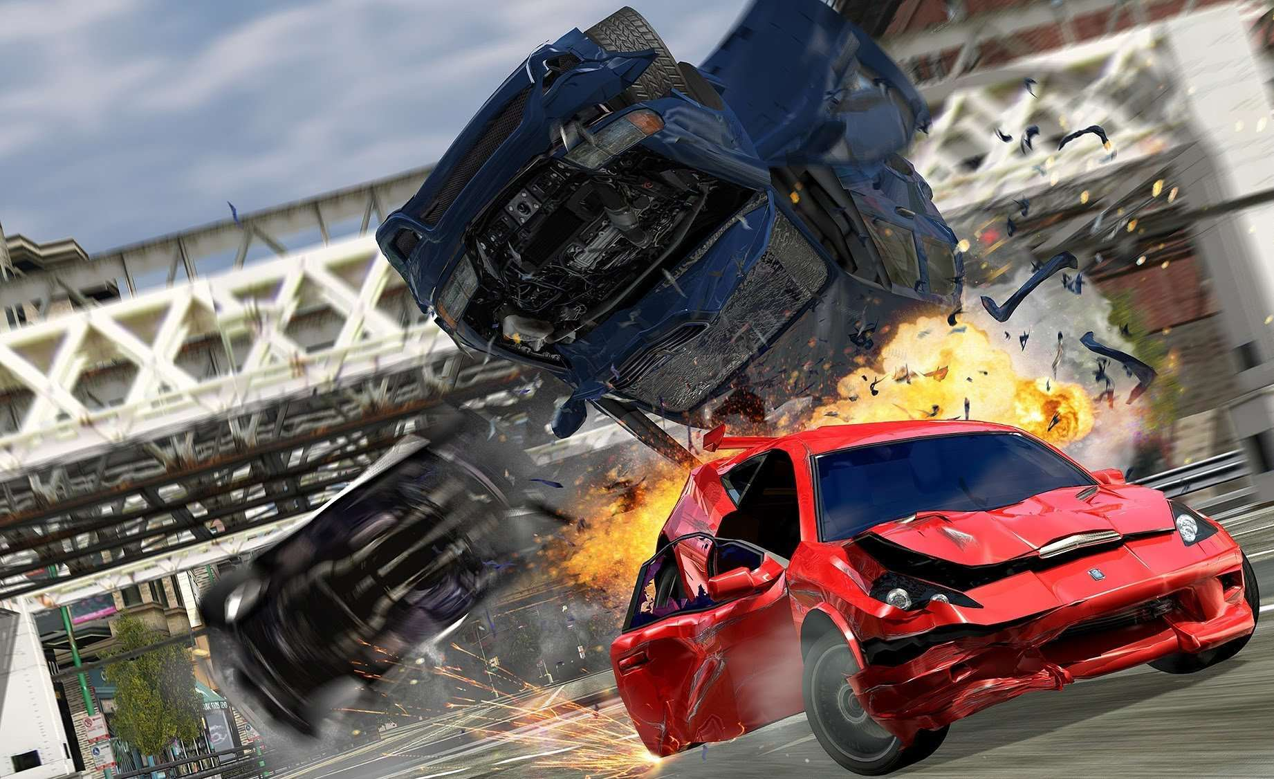 Burnout Devs Begin Work On New Driving Game burnout crash