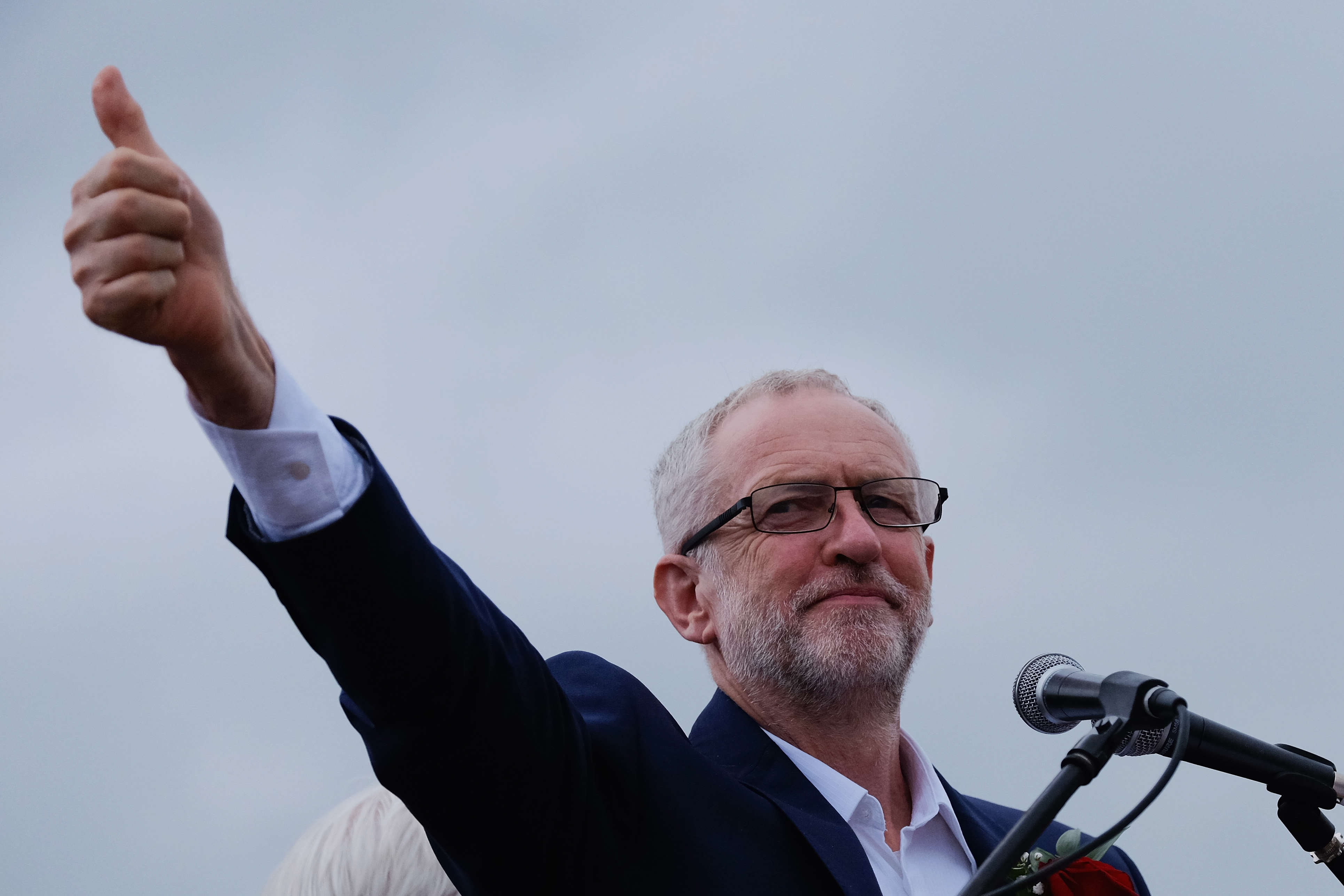 Jeremy Corbyn Attends The 132nd Durham Miner's Gala