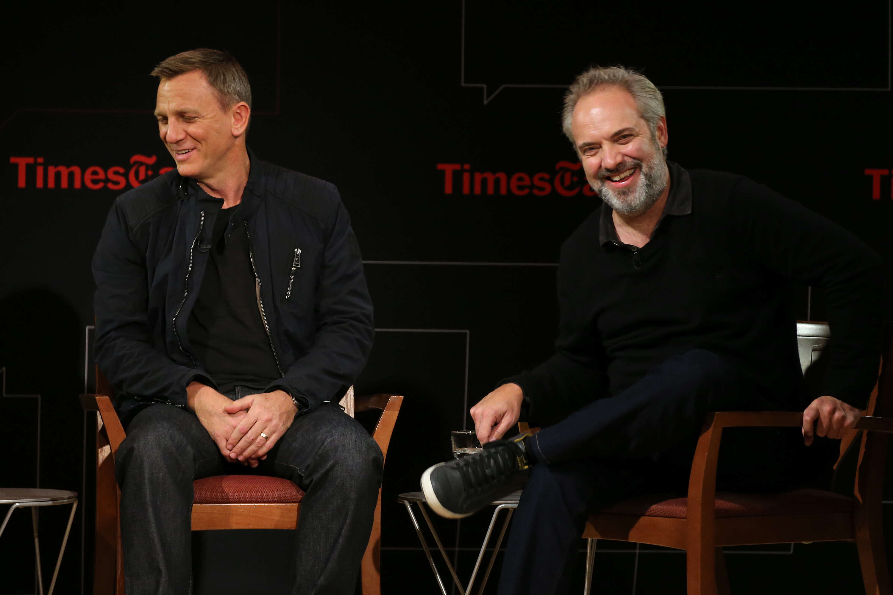 "Times Talks Presents: ""Spectre"", An Evening With Daniel Craig And Sam Mendes"
