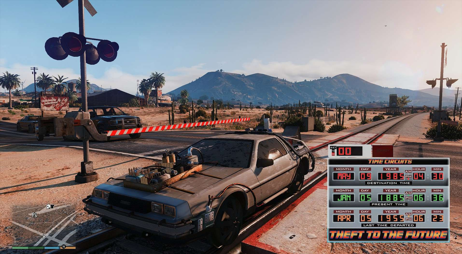 A Back To The Future GTA 5 Mod Exists, With Time Travel db9ef4 20160601002336 1
