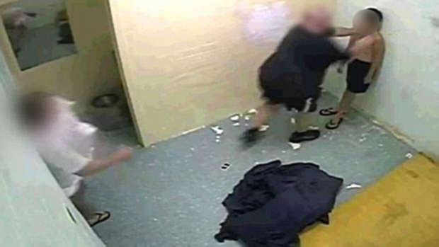 Shocking Footage Shows Brutal Treatment Of Young Boys In Prison detention