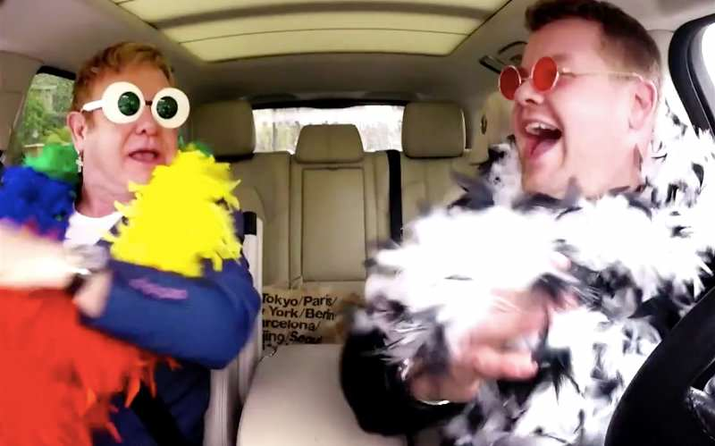 Theres Going To Be Carpool Karaoke Spin Off, But Youll Be Disappointed elton1