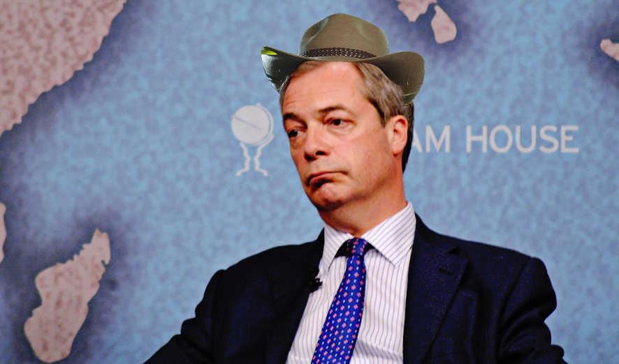 Nigel Farage Offered Serious Cash To Do Im A Celebrity farage 03 flickr
