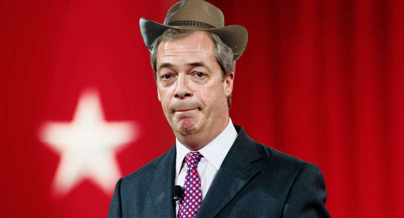 Nigel Farage Offered Serious Cash To Do Im A Celebrity farage im a celeb wt