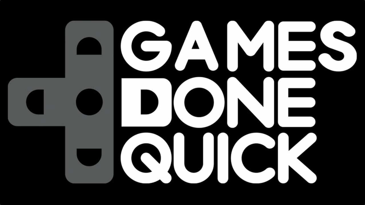 Speedrunning Event Raises Incredible Amount For Charity games done quick logo