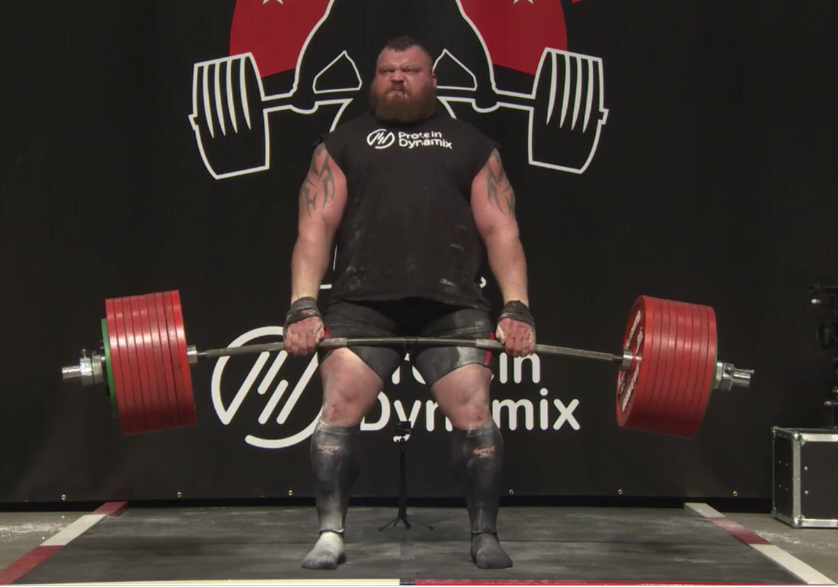 Strongman Nearly Dies During Record Breaking Deadlift Attempt hall3 1