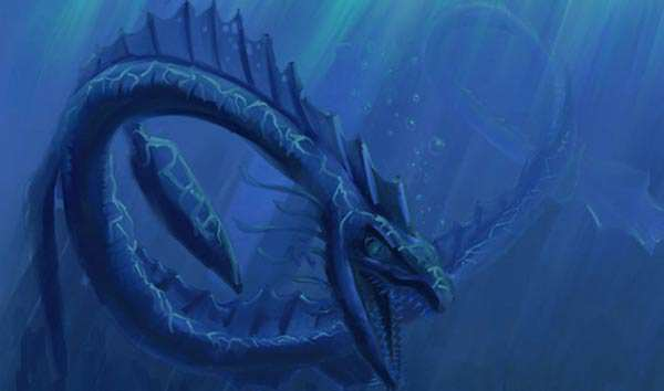 Mythical Worm Beast Spotted Swimming In Lake iceland legendary monster