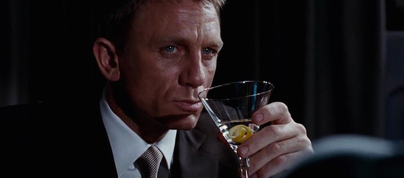 James Bond Is Actually Just A Psychopath, And Heres Why james bond martini