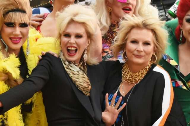 Absolutely Fabulous: The Movie, Flamboyant Fun But Not Fabulous landscape 1467282392 gettyimages 543627206 640x426