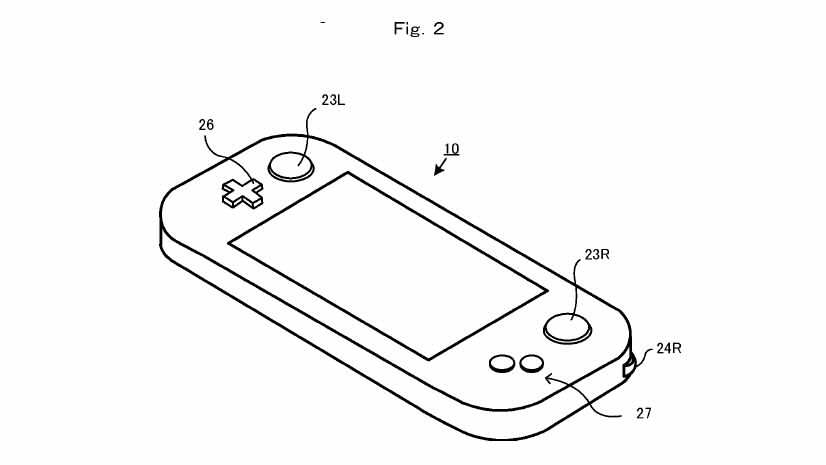 New Nintendo Patent Reveals More About The NX nintendo nx patent 2 970 80