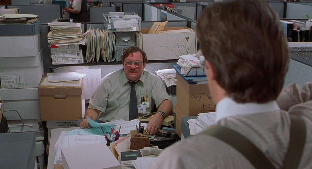 Can You Sue Your Boss If Your Job Is Too Boring? office space 2