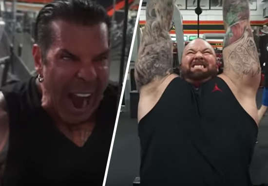 Watch The Mountain Hit The Gym With Rich Piana piana