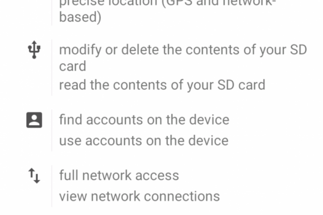 There Is A Malicious Version Of Pokemon GO Going Around On Android pokemon go permissions 640x426