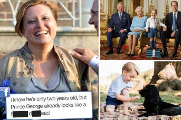 The Sun Publicly Shames Woman For These Prince George Comments prince george headline
