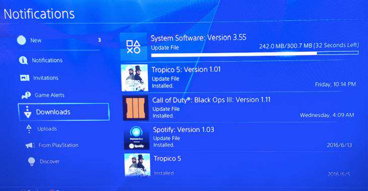 Massive PS4 System Update Beta Coming Soon ps4 3.55 update notes
