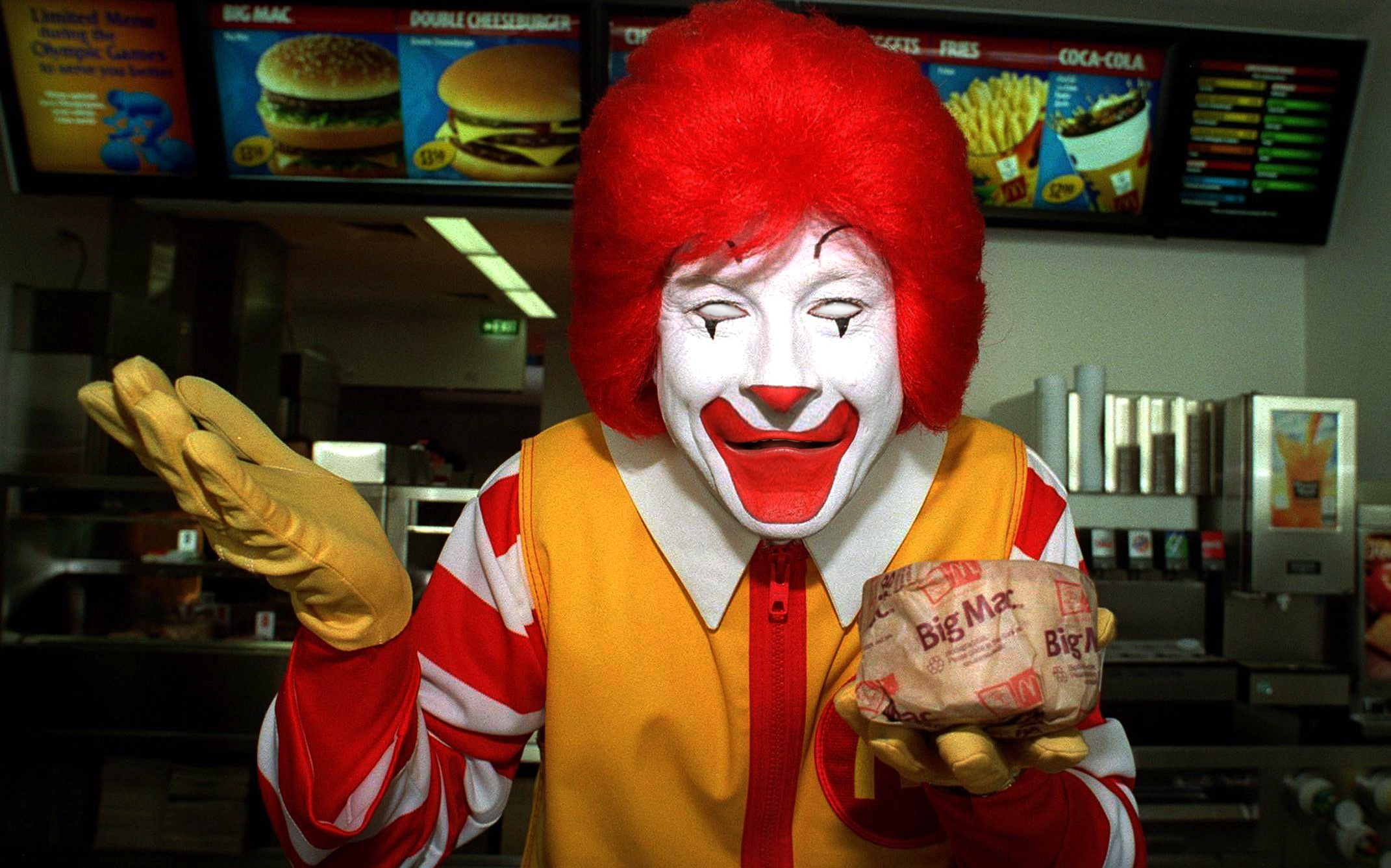Looks Like Pokemon GO Is Getting McSponsored Pokestops scary ronald mcdonald