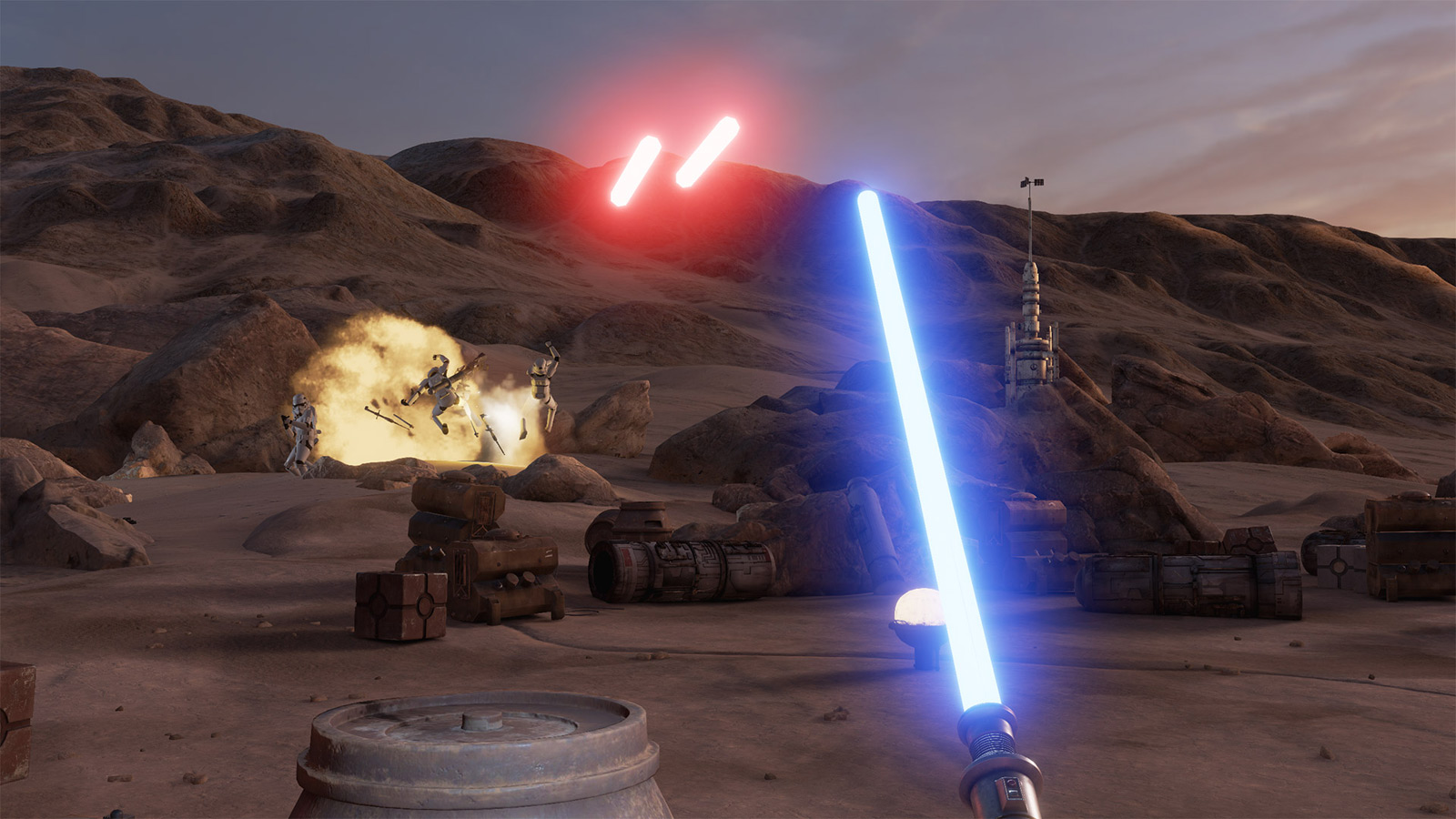 Star Wars VR Game Available For Free On Steam star wars trials on tatooine 1600