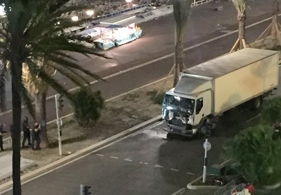 Hero Saves Dozens In Nice After Wrestling With Terrorist Lorry Driver truck33