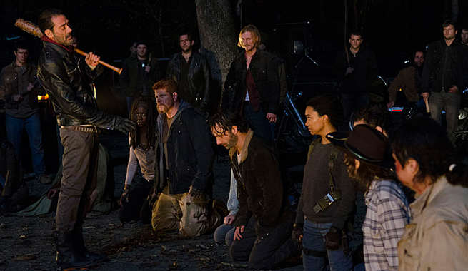 New Walking Dead Trailer Reveals Major Clue To Who Dies twd negan 616 2 177302