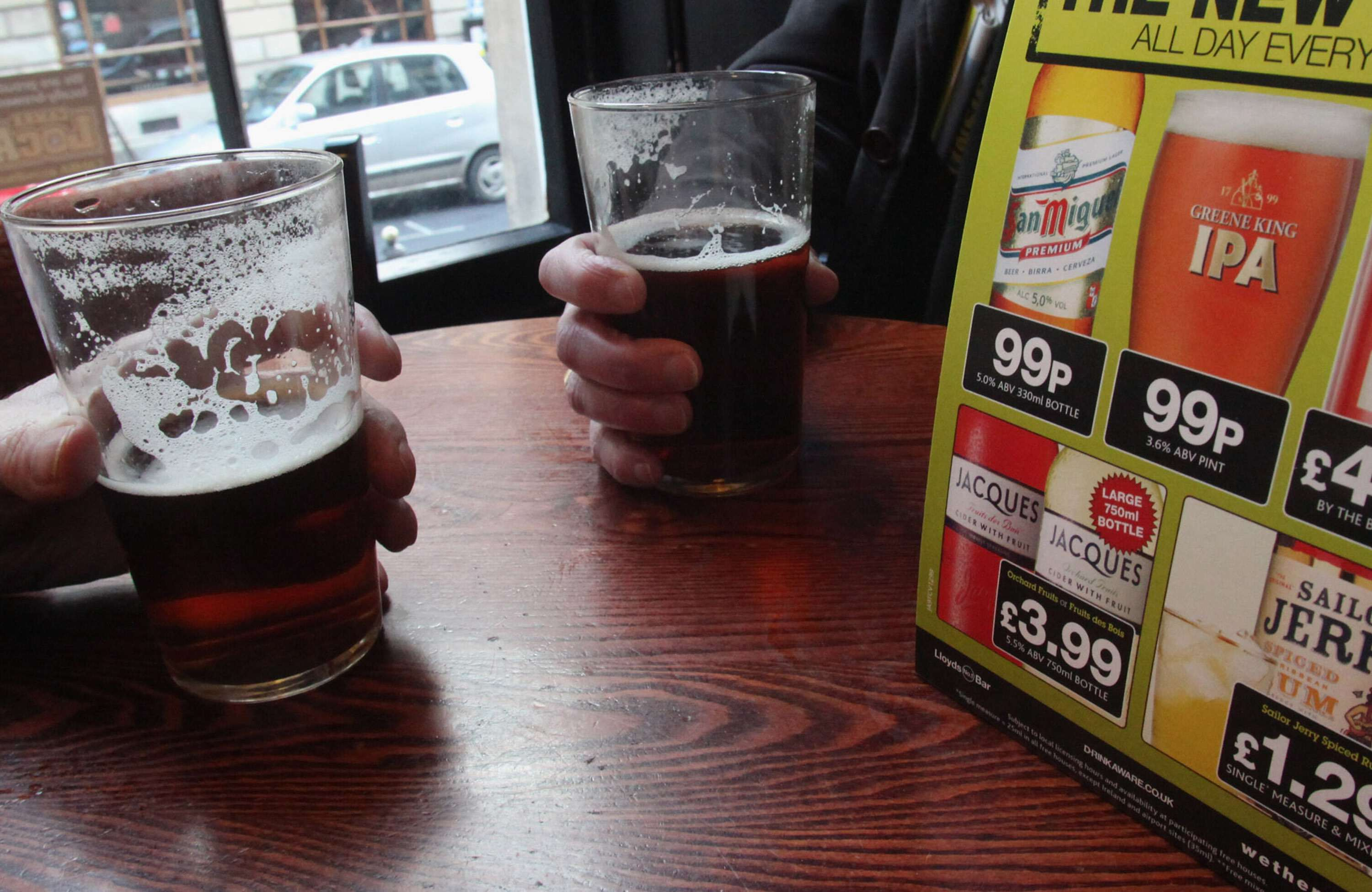 Pub Chain Lowers Price Of Beer To 99p A Pint