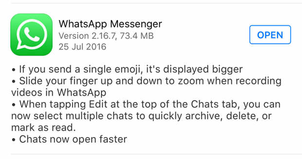 Everything You Need To Know About Todays WhatsApp Update whatsapp1