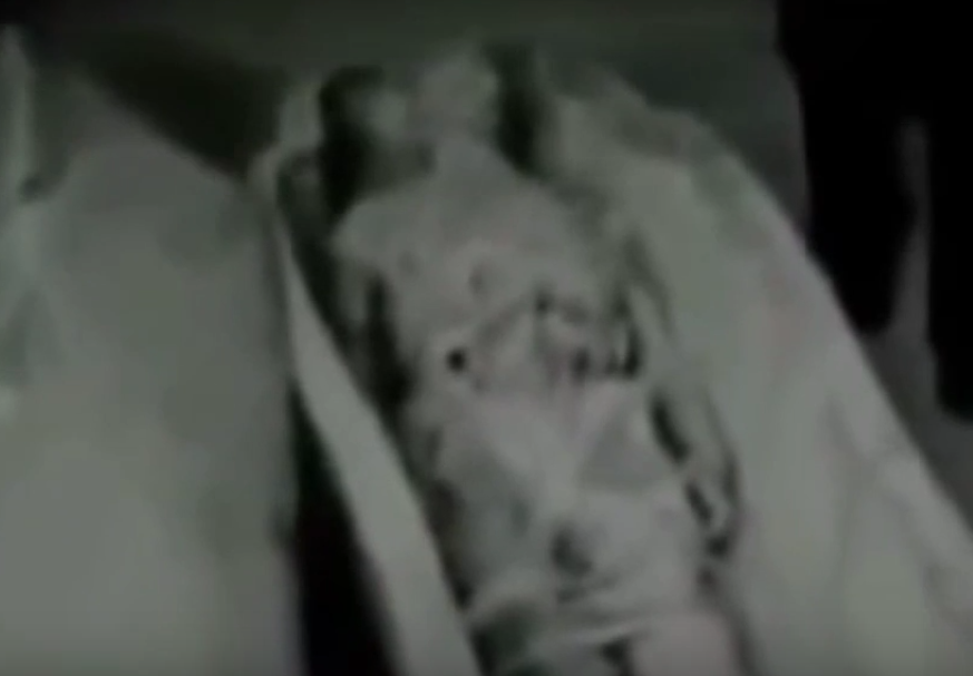 Leaked Video Shows Russian KGB Agents Probing Alien Remains ya