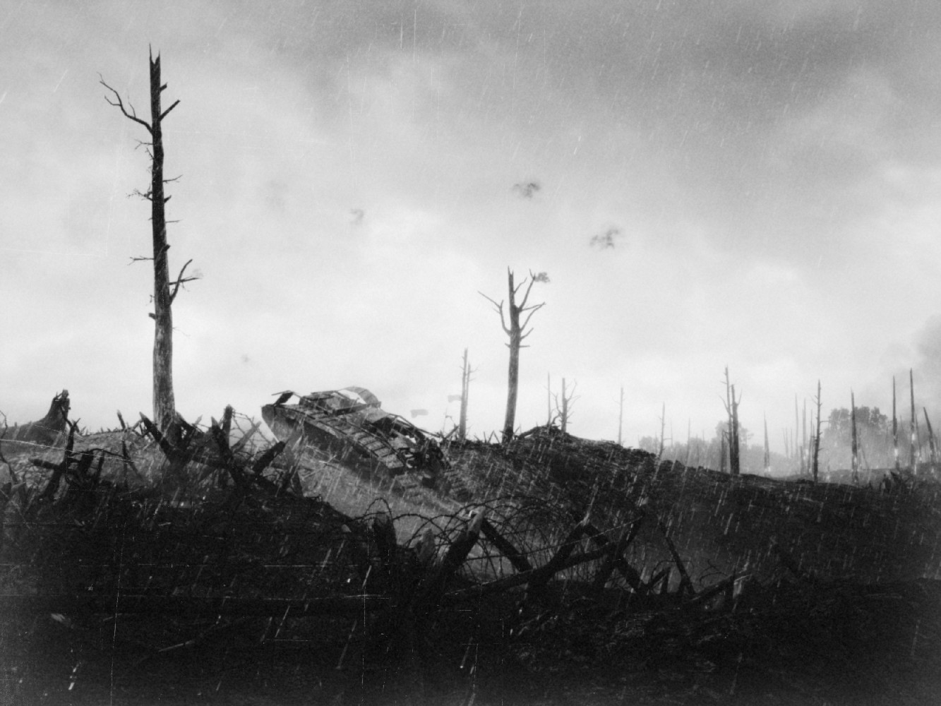 Battlefield 1 Screens Look Hauntingly Realistic With Black & White Filter 0ZkHkEP