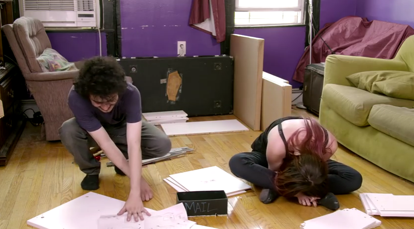 Couple Take Acid And Hilariously Try To Build IKEA Furniture 1 1