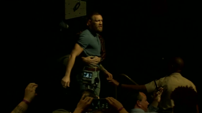 The McGregor And Diaz Press Conference Was Mental 1 2