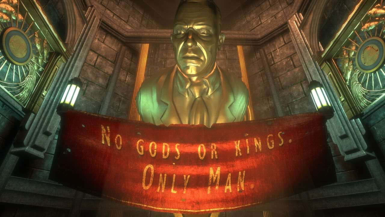 BioShock: The Collection Trailer Shows Game Looking Better Than Ever 1608 2K BioShock The Collection Bio1 Andrew Ryan Statue.0.0