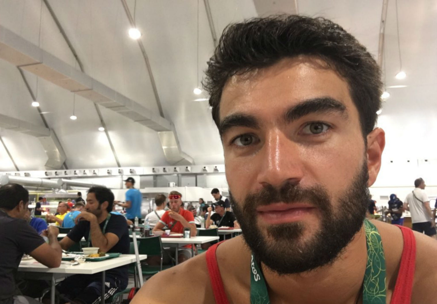 Tongan Swimmer Has Perfect Response To Article Outing Gay Olympians 17300 1xbzxdt