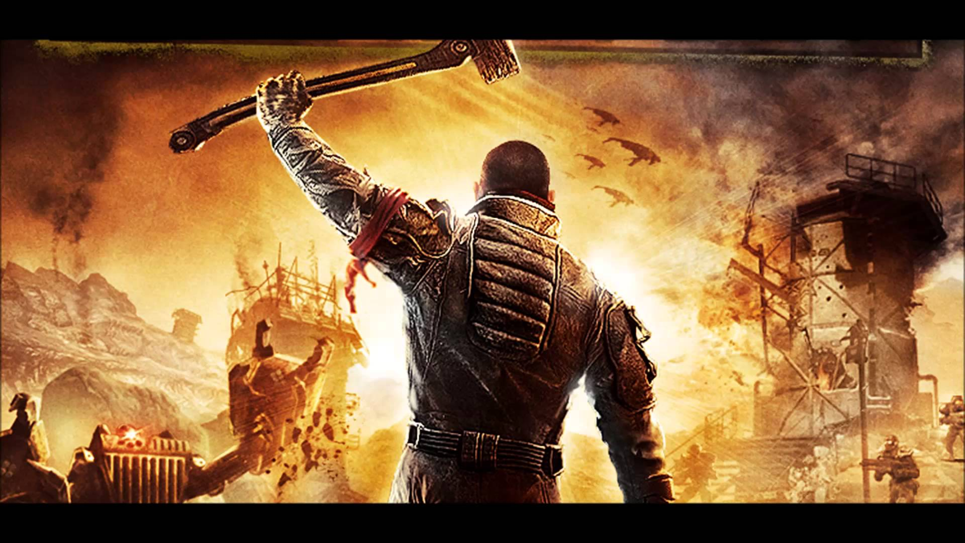 THQ Return With A Tonne Of New Games In Development 1920x1080px red faction guerrilla 369768