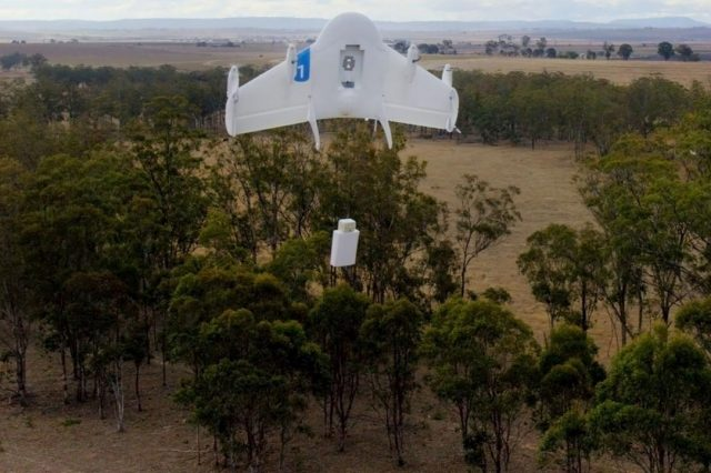 Google Delivery Drone