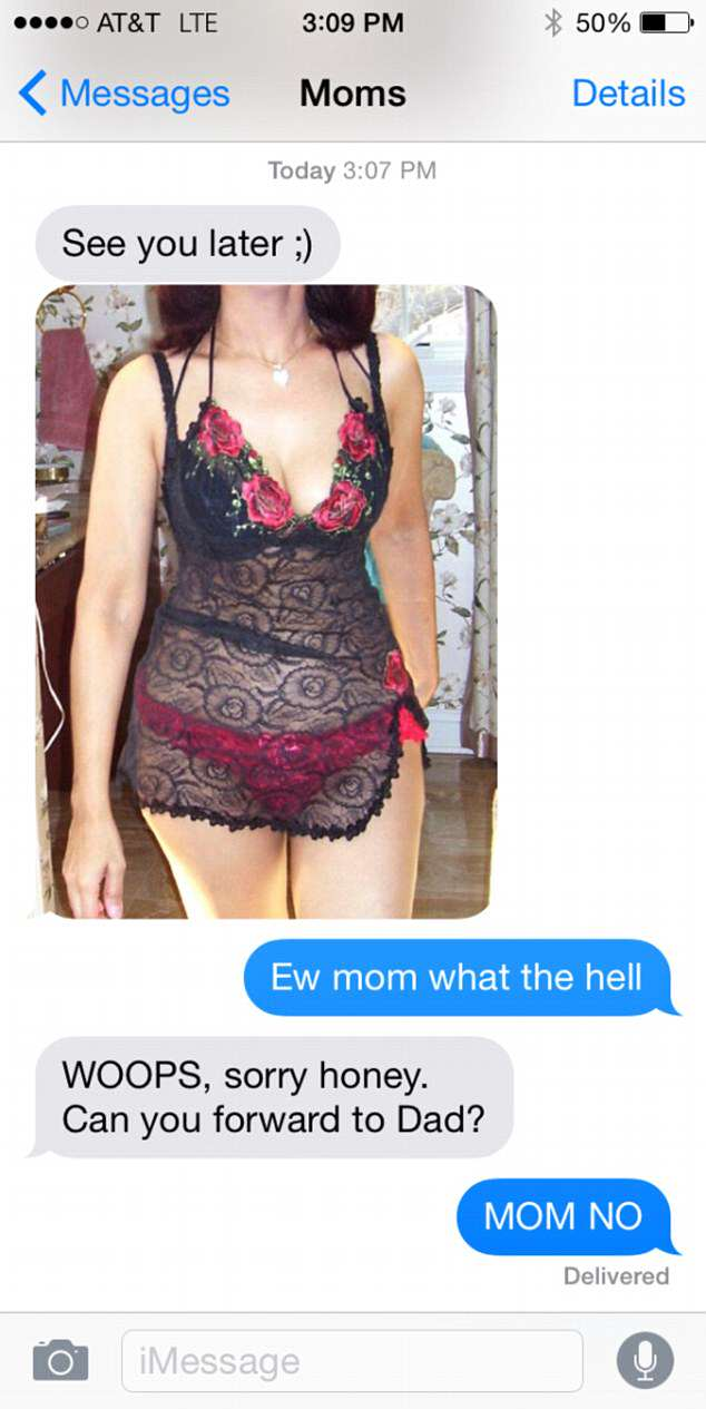 These Are The Most Inappropriate Text Convos Between Parents And Kids 36E829FD00000578 0 image a 7 1470409018371