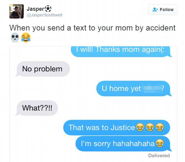 These Are The Most Inappropriate Text Convos Between Parents And Kids 36E82B3800000578 3725667 image m 66 1470913544104