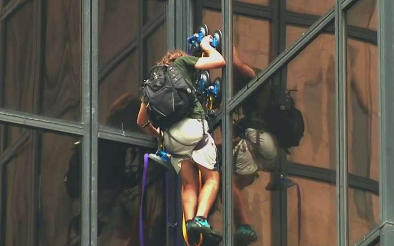Heres Why A Guy Tried To Climb Trump Tower 49029017.cached