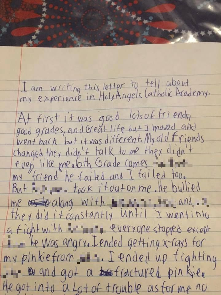 Heartbreaking Final Letter Of Bullied Schoolboy Who Commited Suicide 4d532c6557afb4a2fee8633ecf6d1a8d