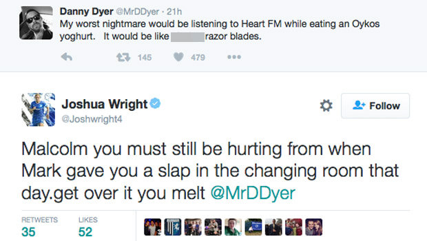 This Is How Danny Dyer Reacted To Being Slapped By Mark Wright 615259
