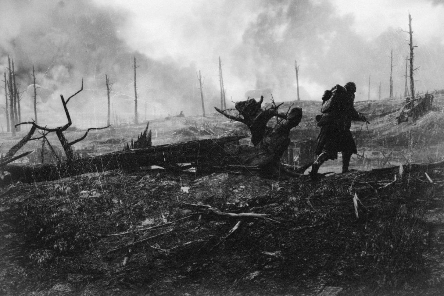 Battlefield 1 Screens Look Hauntingly Realistic With Black & White Filter BNNTB4ar