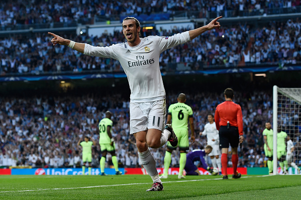 Real Madrid Galactico Set For Huge Manchester United Move? Bale getty david ramos
