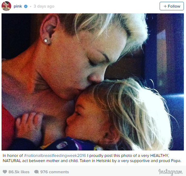 People Need To Stop Criticising Pink For This Breastfeeding Photo Capture 3