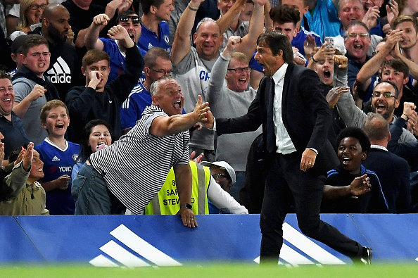 Chelsea Fans Set To Lose Their Sh*t As Club Zero In On Bolton Reject Conte Getty Celebration 1