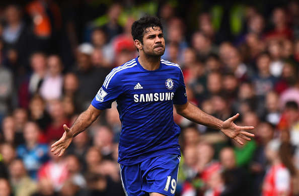 Chelsea Make Jaw Dropping Final Offer For World Class Forward Diego Costa Getty