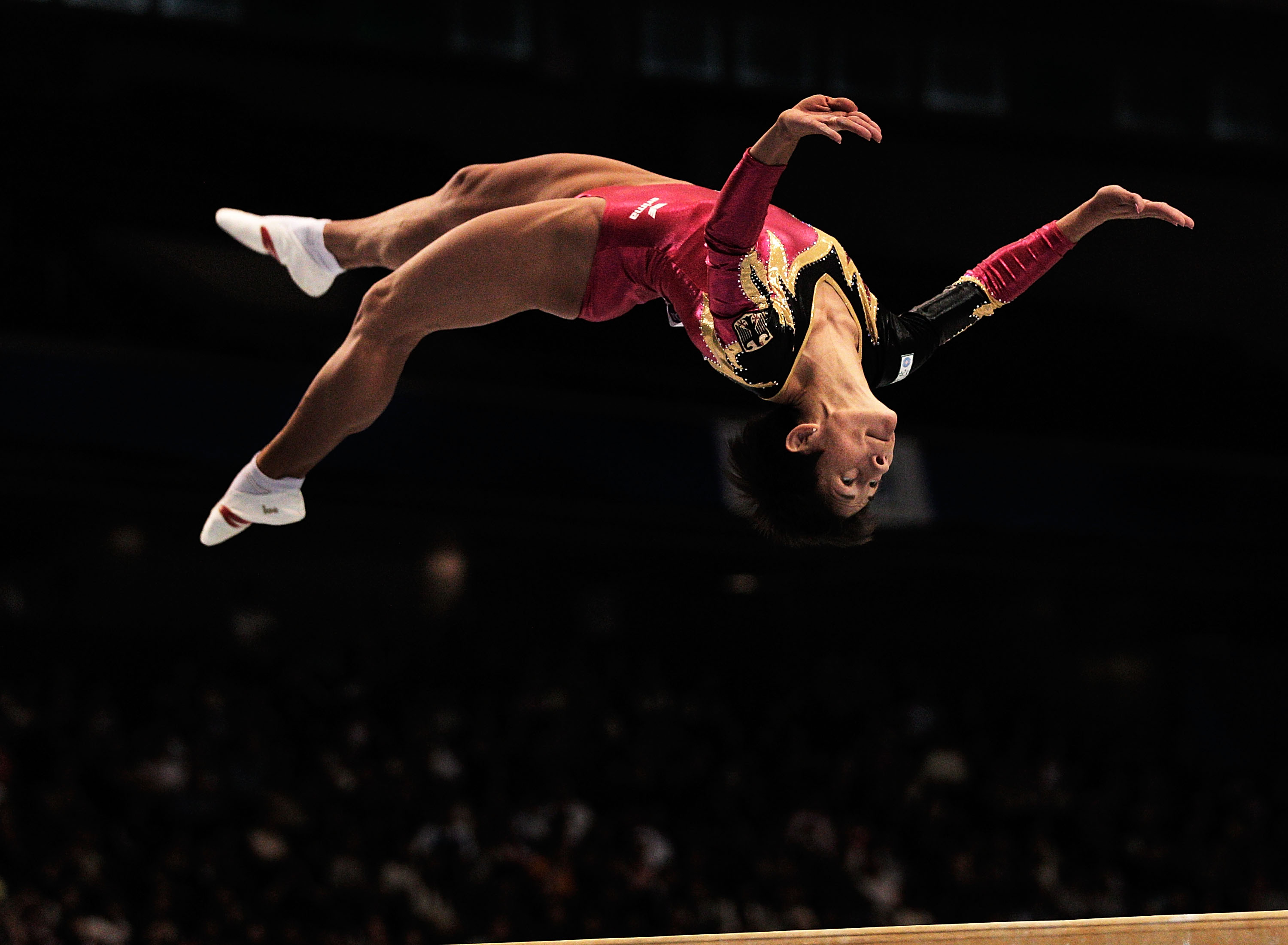 This 41 Year Old Olympic Gymnast Keeps Competing For Inspirational Reason GettyImages 128783246
